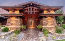 $2.7 Million Wood & Stone Mansion In Billings, MT