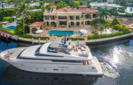 $17.495 Million Mediterranean Waterfront Mansion In Golden Beach, FL