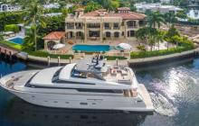 $17.495 Million Mediterranean Waterfront Mansion In Golden Beach, FL