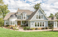 $2.2 Million Shingle & Stone Lakefront Mansion In York, SC