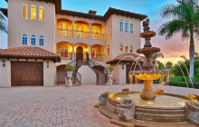 $2.695 Million Mediterranean Waterfront Home In Placida, FL