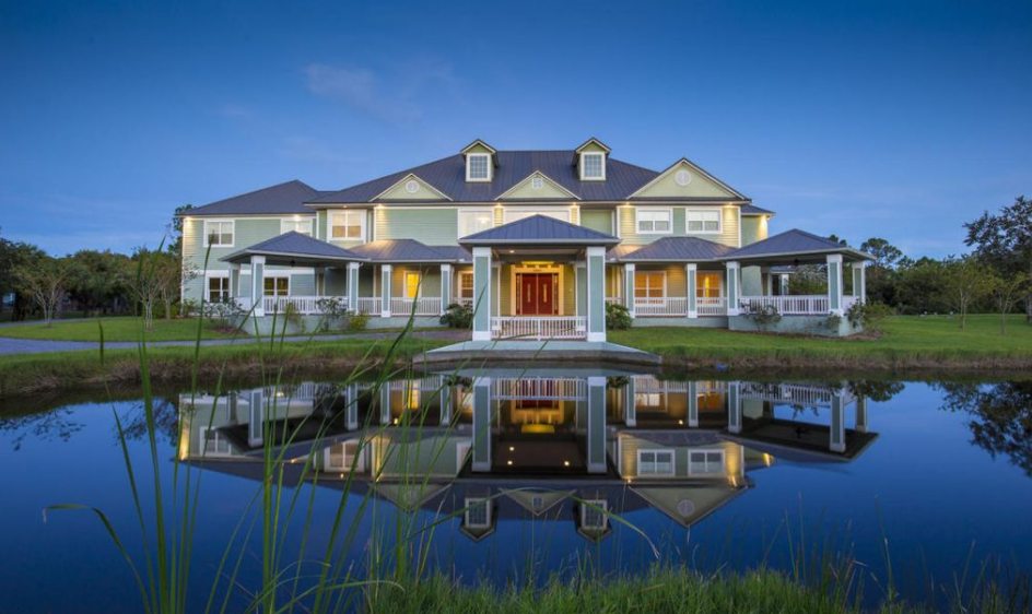 11,000 Square Foot Mansion In Melbourne, FL