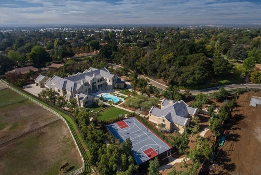 $18 Million Newly Built English Tudor Style Estate In Bradbury, CA
