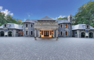 25,000 Square Foot Stone Home In Saddle River, NJ