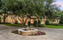 12,000 Square Foot Stone Mansion In Dallas, TX