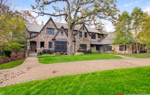 10,000 Square Foot Stone & Stucco Mansion In Libertyville, IL