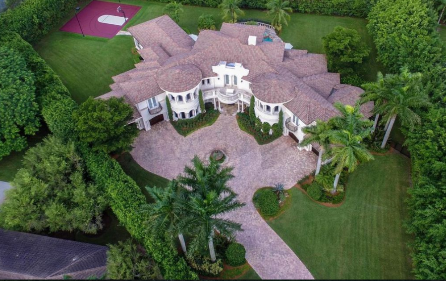 10,000 Square Foot Mediterranean Mansion In Boca Raton, FL