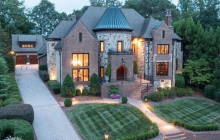 $2.8 Million Brick & Stone Home In Charlotte, NC