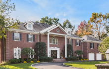 $3.75 Million Georgian Colonial Home In Greenwich, CT