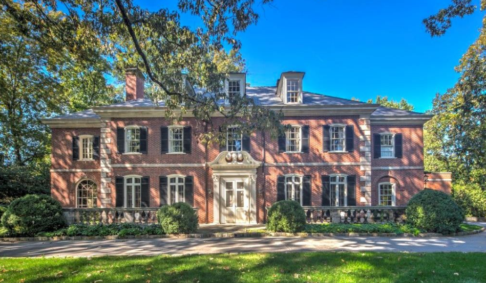 5 1 Million Historic Georgian Colonial Mansion In Atlanta