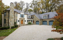 11,000 Square Foot Brick & Stone Mansion In Rockville, MD