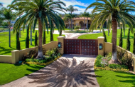 16,000 Square Foot Golf Course Mansion In Rancho Santa Fe, CA