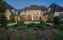 $2.5 Million Brick & Stone Mansion In Frisco, TX