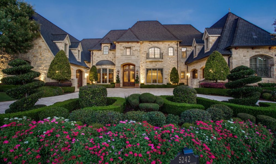 2 5 million brick stone mansion in frisco tx homes for Texas stone homes