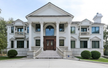 10,000 Square Foot Stone & Stucco Mansion In Wheaton, IL