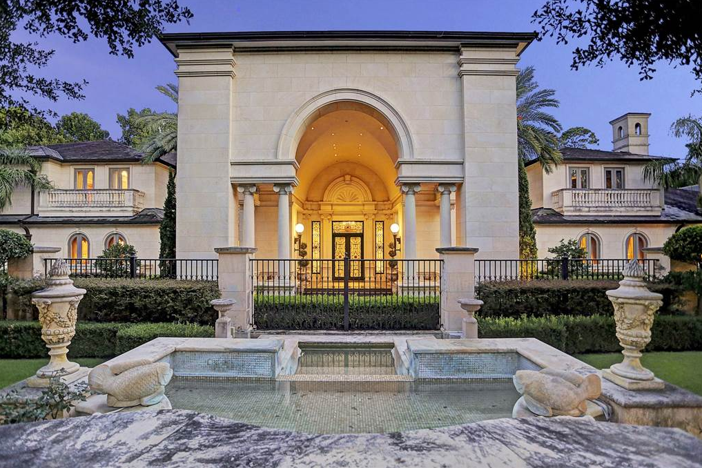 La perse a 30 million limestone mega mansion in houston for Luxury homes for sale la