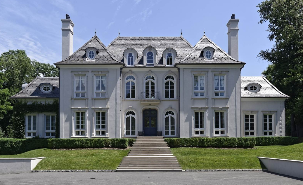 $7.425 Million French Provincial Mansion In Rye, NY