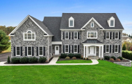 $1.35 Million Colonial Stone Home In Glenwood, MD