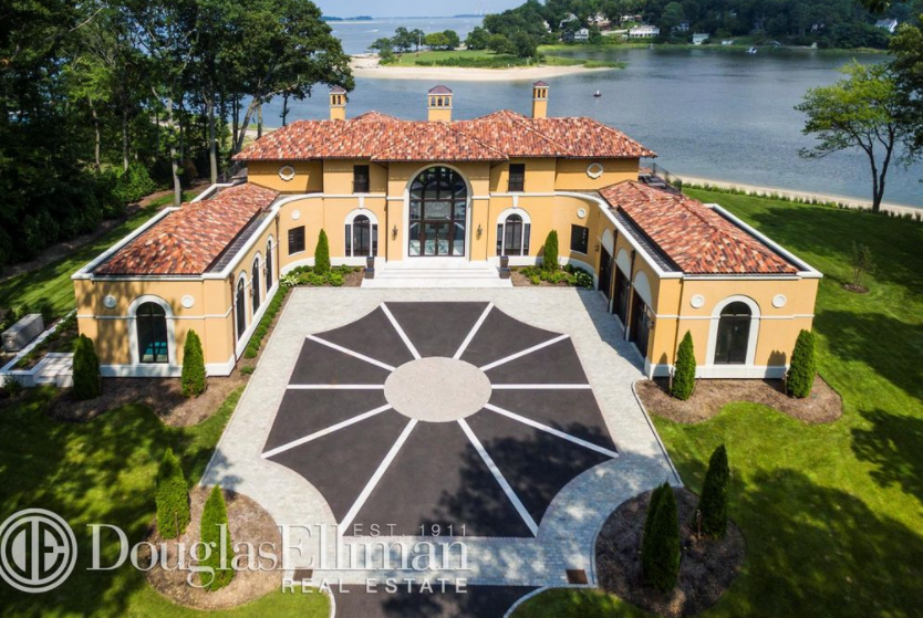 $11 Million Newly Built Waterfront Mansion In Sands Point, NY
