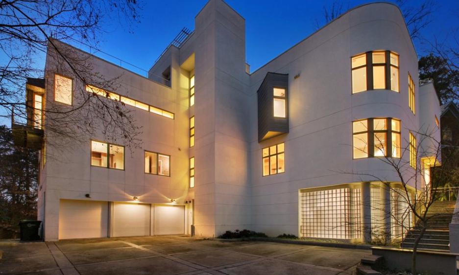 2 7 million contemporary home in atlanta ga homes of for Contemporary homes atlanta