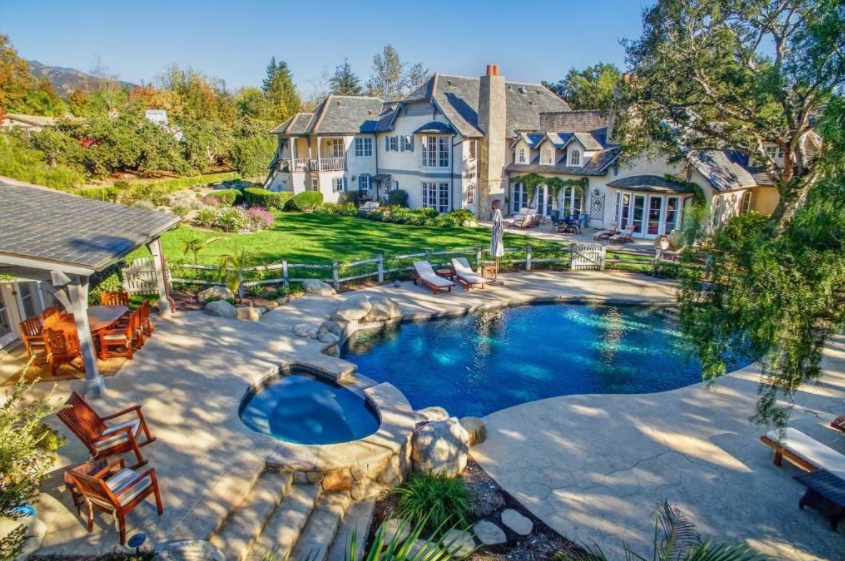 $6.195 Million French Country Home In Santa Barbara, CA