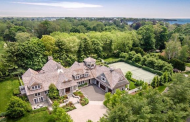 10,000 Square Foot Shingle Mansion In Westport, CT