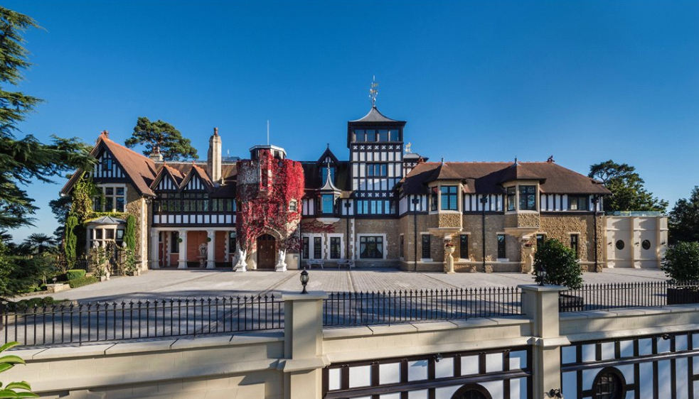 Historic 28,000 Square Foot Mega Mansion In Surrey, England