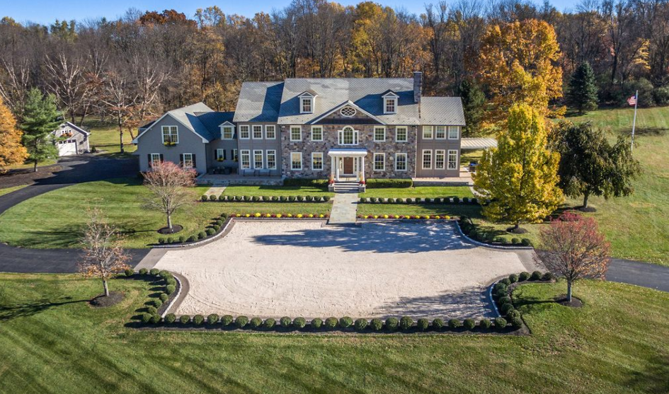 12,000 Square Foot Mansion On 93 Acres In New Hope, PA