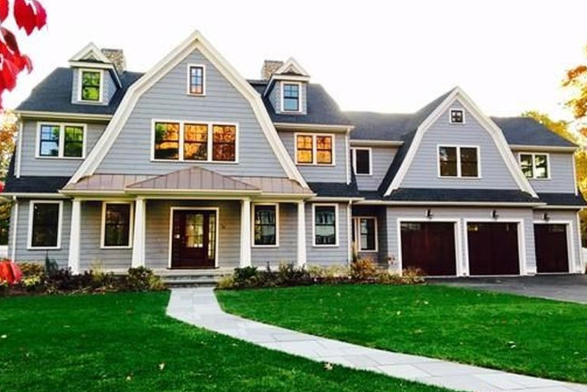 $3.695 Million Newly Built Shingle Home In Wellesley, MA