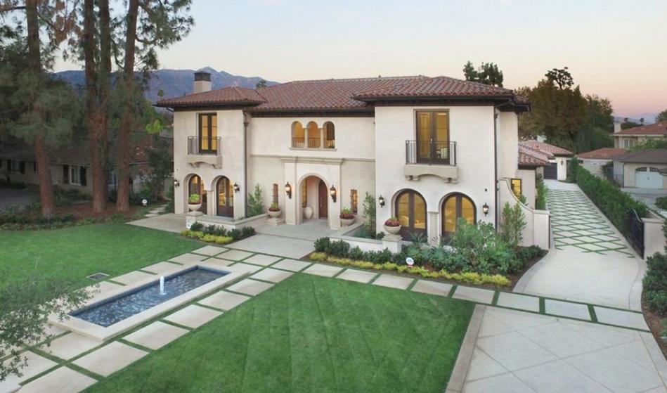 $8.9 Million Newly Built Italian Renaissance Inspired Home In San Marino, CA