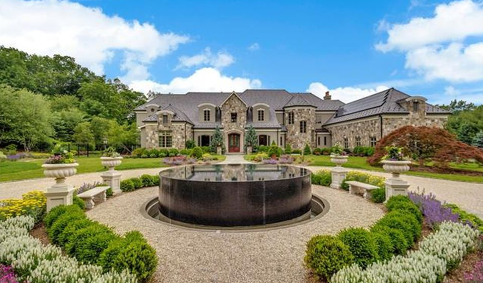 Stone & Stucco Mansion In Bedford Corners, NY Re-Listed