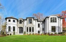 $2.998 Million Newly Built Stone & Stucco Home In Tenafly, NJ