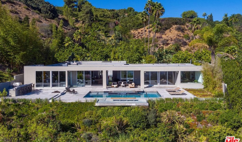 $14.95 Million Mid-Century Modern Home In Beverly Hills, CA