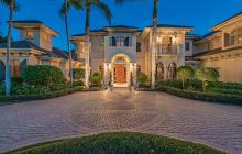 $6.895 Million European Inspired Mansion In Naples, FL