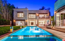 $8.5 Million Newly Built Estate In Los Angeles, CA
