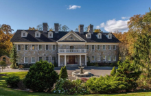11,000 Square Foot Stone Mansion In Greenwich, CT