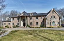 20,000 Square Foot Brick Colonial Mansion In Mahwah, NJ