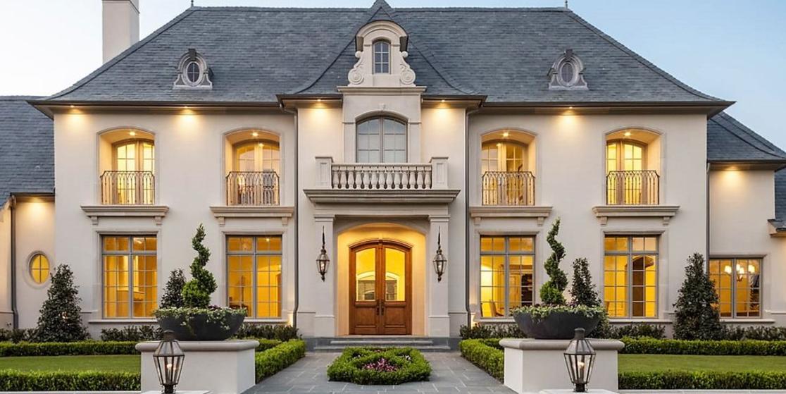12,000 Square Foot Mansion In Dallas, TX