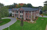 $3.4 Million Newly Built Brick Colonial Mansion In Englewood Cliffs, NJ