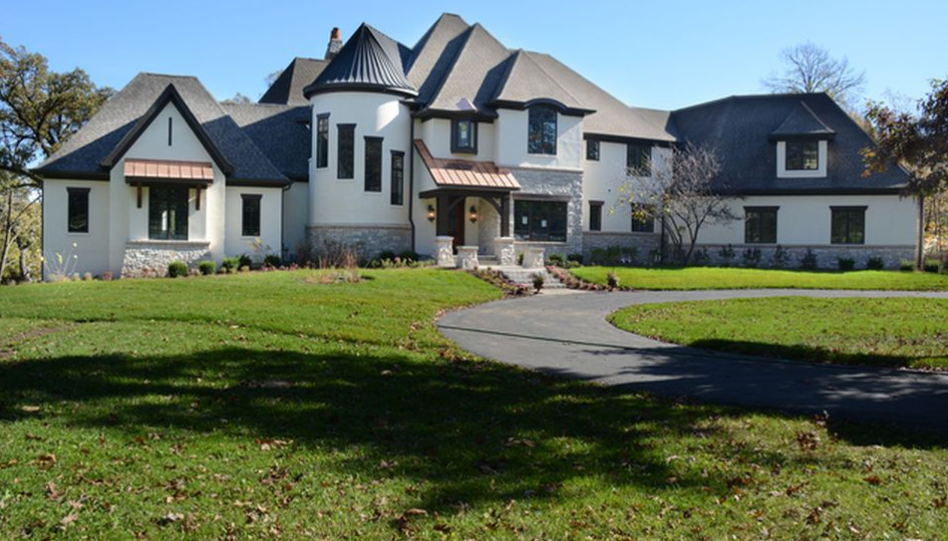 10,000 Square Foot Riverfront Mansion In St. Charles, IL