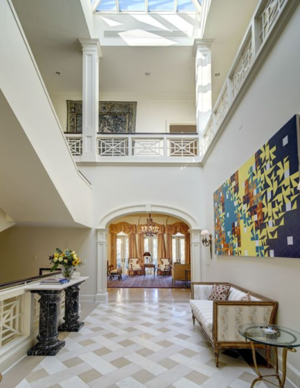 10 000 Square Foot Stucco Mansion In Mclean Va Homes Of
