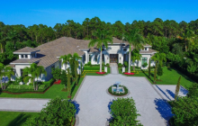 10,000 Square Foot Newly Built Mansion In Palm Beach Gardens, FL