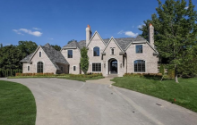 $2.975 Million Newly Built Brick Mansion In Bloomfield Hills, MI