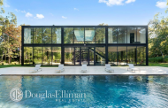10,000 Square Foot Newly Built Glass & Steel Home In East Hampton, NY