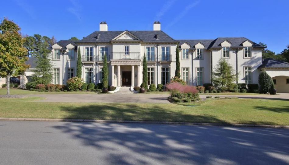 $2.995 Million Country Club Mansion In Little Rock, AR