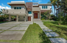 $3.875 Million Newly Built Contemporary Home In Key Biscayne, FL