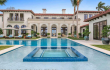 $39.5 Million Newly Built Lakefront Mansion In Palm Beach, FL