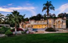 $8.595 Million Mediterranean Mansion In Santa Barbara, CA