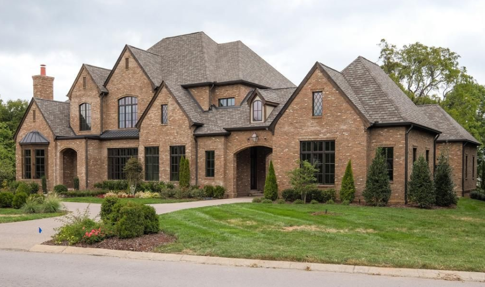 11,000 Square Foot Newly Built Brick Mansion In Brentwood, TN