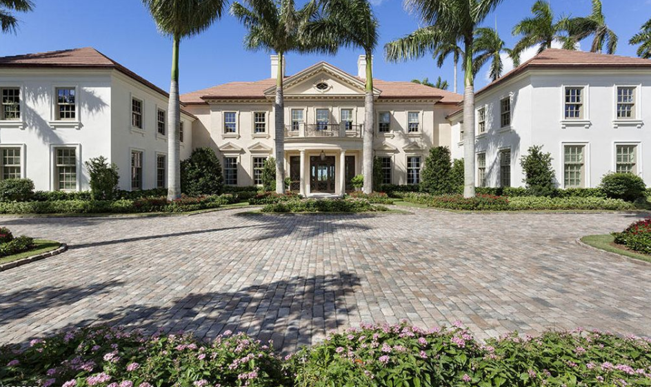 $42.5 Million Newly Built Lakefront Mansion In Palm Beach, FL
